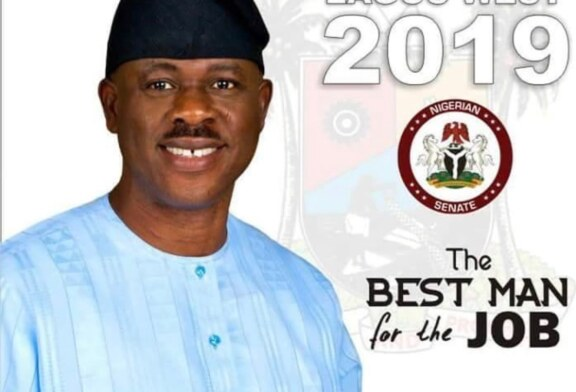 National cake: Musiliu Obanikoro and son,Babajide  set to contest again …as forces in  APC vowed to sink the Obanikoros' political ship.