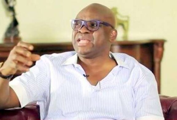 Fayose reacts to Fayemi threat: You'll be consumed by your vendetta