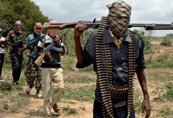 JUST IN: Boko Haram Currently Setting Houses Ablaze In Chibok
