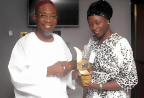 Bodex Media Awards Governor Rauf Aregbesola Most Outstanding/Creative Governor of the Year 2018