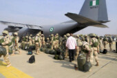 Air Force Destroys Boko Haram Logistics Base At Tumbum Gini