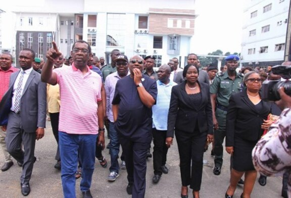 Wike says attack on rivers judiciary by hoodlums is a coup against rivers state