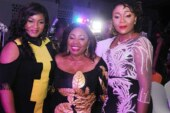 PHOTOS: Omotola, Ita-Giwa, Obey join Shina Peters to celebrate 60th birthday