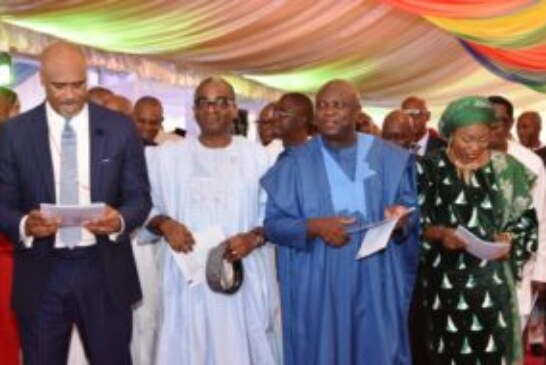 OUR ACHIEVEMENTS IN THREE YEARS DIVINELY INSPIRED – AMBODE …Thanks Lagosians, Urges Them To Expect More Impactful Projects