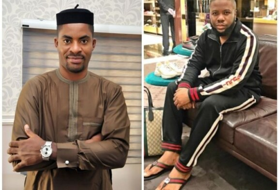 """I have no hatred towards you"" – Hushpuppi says he has forgiven Deji Adeyanju after conversing with him on the phone"