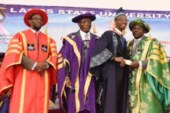AMBODE GRANTS SCHOLARSHIP, N5MILLION CASH REWARD TO BEST LASU GRADUATING STUDENT