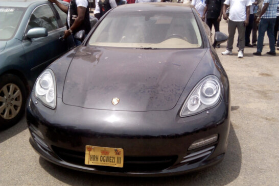 Police arrest medical doctor who bought N28m Porsche car with fake bank alert, says hacking into Nigerian banks is very easy