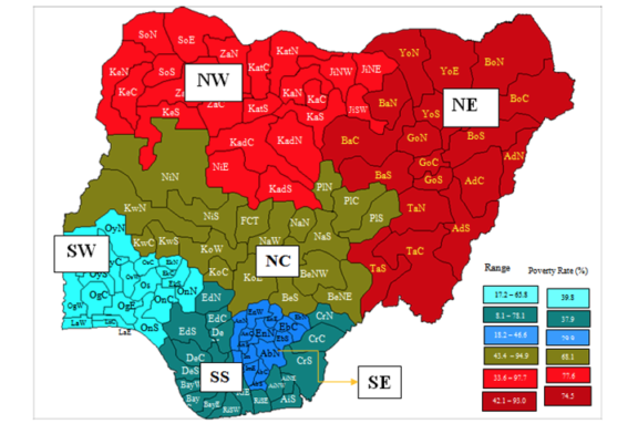 What Nigeria needs are 9 geo-economic zones, not 6 geo-political zones