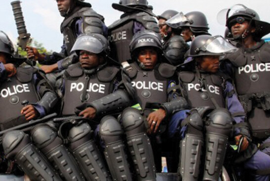 BREAKING: Gunshots rock Borno as police stage protest
