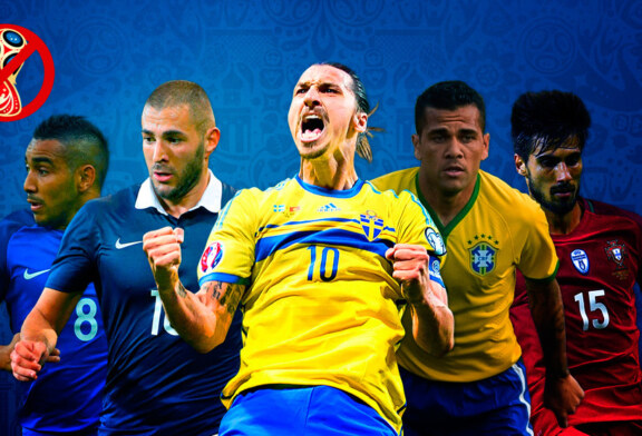 World Cup 2018: The major absentees of this summer's World Cup – From Benzema to Dani Alves to Ibrahimovic