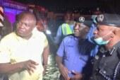 Ambode visits scene of petrol tanker explosion