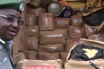 Customs Seize Trailer Load Of Tramadol, Goods Worth N900m