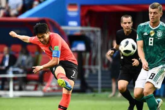 BREAKING: Defending Champions Germany Crash Out Of World Cup