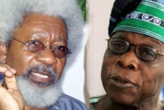 2019 Poll: Obasanjo You are unfit for reform movement—Soyinka