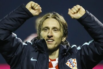 Croatia midfielder, Modric speaks on Super Eagles' poor results in friendly matches