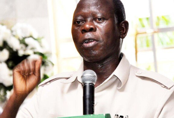 Oshiomhole threatens to sack Ngige from APC