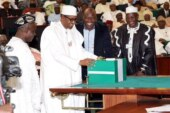 Buhari transmits 2019 election budget to Senate
