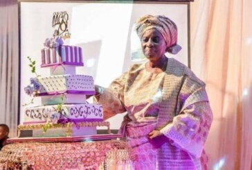 PHOTOS: Osinbajo, family and friends converge for 70th birthday of Foluke Adeboye