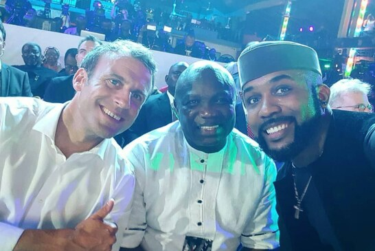 FULL VIDEO: France President Emmanuel Macron in Nigeria Afrika Shrine, Dance to Wizkid Soco & Davido Song