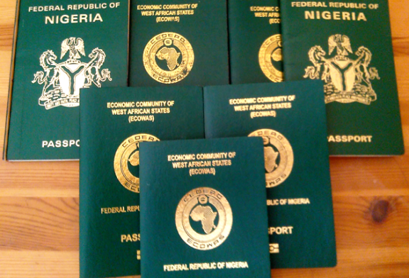 Nigerian passport valid for 10 years