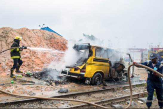 BREAKING NEWS: Train Accident Rocks Agege Pen Cinema … many feared dead (PHOTOS)