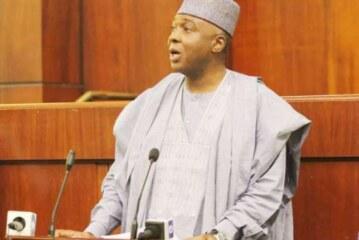 You can't remove me as Senate President, Saraki replies Oshiomhole (READ THE FULL STATEMENT)