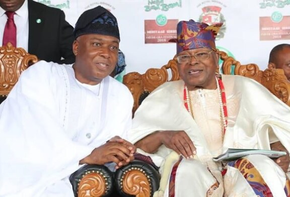 Royal Endorsement! How Awujale Made Saraki Superstar In Amosun's Domain