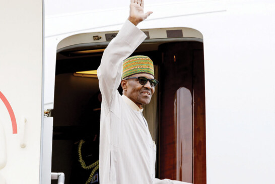 BREAKING: Buhari embarks on 10-day London vacation, transfers power to Osinbajo