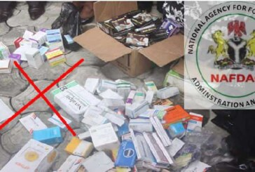 NAFDAC busts drug cartel behind importation of tramadol, other banned substances