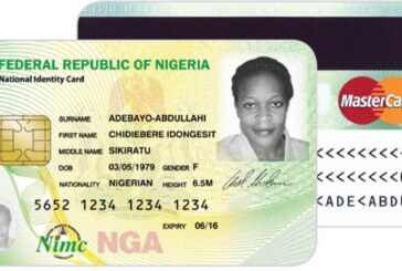 NIMC says you can withdraw money, pay bills with new national e-ID card