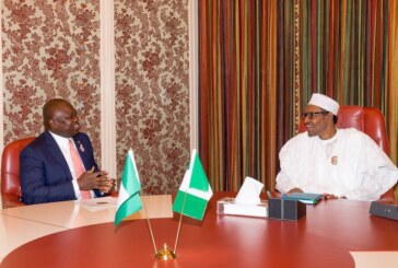 Lagos 2019: Buhari meeting Lagos governor in Aso Rock
