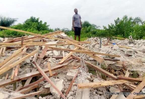 Tears, sorrow as bank demolishes Lagos homes