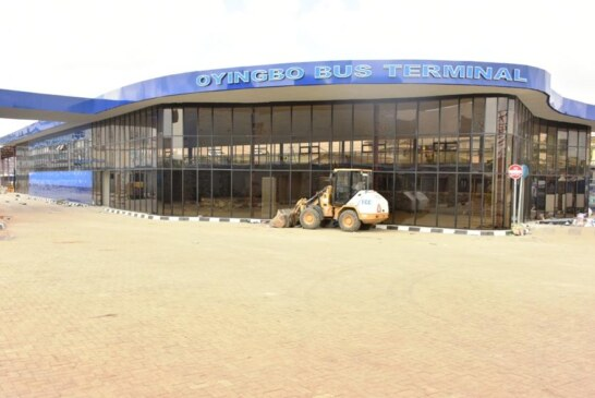 OYINGBO BUS TERMINAL NEARING COMPLETION, BY LAGOS STATE GOVERNMENT