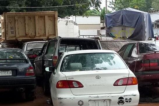 Ogun customs intercept 6,194 bags of smuggled rice, 340 kegs of petrol, 33 vehicles