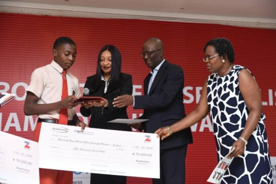 Zenith Bank Sponsors 2018 Microsoft Award, Restates Commitment To Youth Empowerment