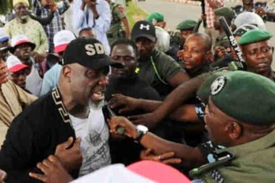 JUST IN: Police Invade Dino Melaye's Abuja Residence