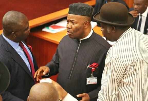 Confusion In Senate As Saraki Shuns Akpabio