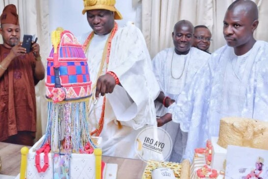 PICTURES: Ooni Of Ife Celebrates 44th Birthday In Grand Style