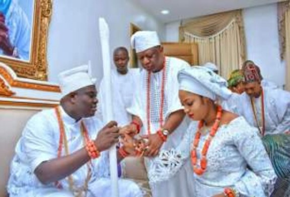 Ooni Of Ife Marries Prophetess (See Photos Of Ceremony)