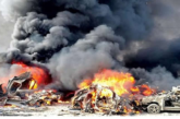 Pandemonium As Explosion Ravages Another Lagos Town