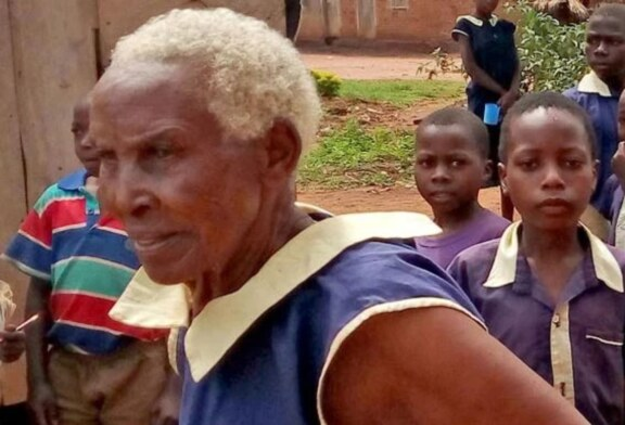 80 Year-Old Woman Enrols In Primary School, Hopes To Be A Teacher