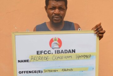 Court Sentences Yahoo-Boy To 5 Months Imprisonment In Ibadan (Photo)