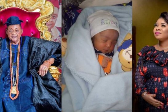 Alaafin Of Oyo Welcomes Baby Boy At 80