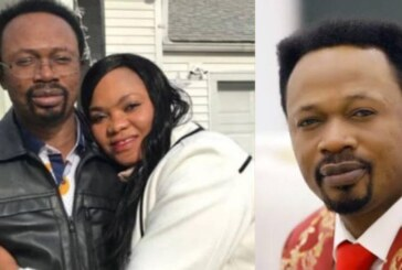 VIDEO: Popular Abuja Pastor Divorces Wife, Confesses To Congregation That They Both Committed Adultery