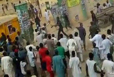 Suspected Hoodlums Disrupt Kano Supplementary Election (PHOTOS AND VIDEO)