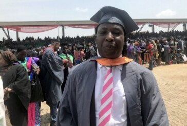 45-year-old Father Of Seven Emerges NOUN's Best Graduating Student
