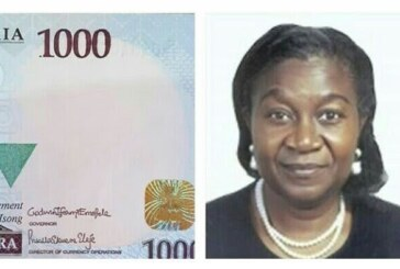 CBN Appoints First Female Director Of Currency