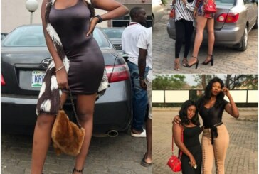 Meet Yvonne Rofem, Believed To Be The Tallest Girl in Nigeria