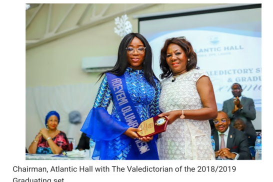 30 Years Of Excellence: Atlantic Hall Graduates 27th Set Of Students