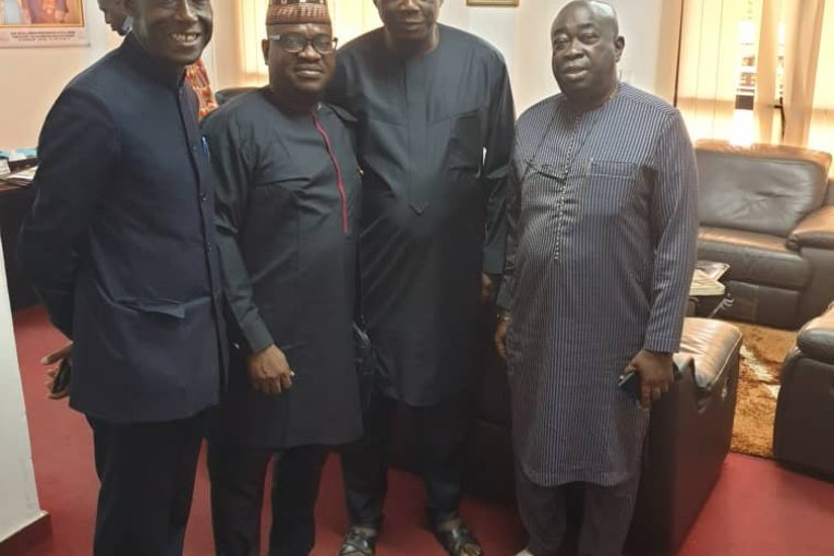 Pic 1- Special Adviser to the Minister on Culture and Tourism, Diallo Abdoulaye; President/Executive Producer, AFRIMA, Mr. Mike Dada; Permanent Secretary, Ministry of Culture, Fodeba Isto Keira; and Director of Art Republic of Guinea, Keita Kadir.